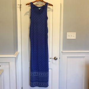 Old Navy Maxi Maternity Dress